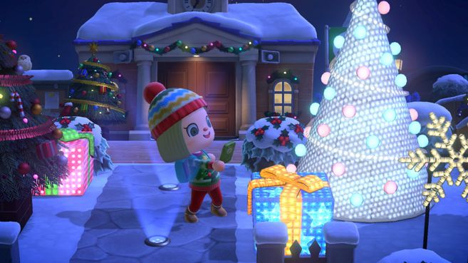 Animal Crossing New Horizons actualización invierno