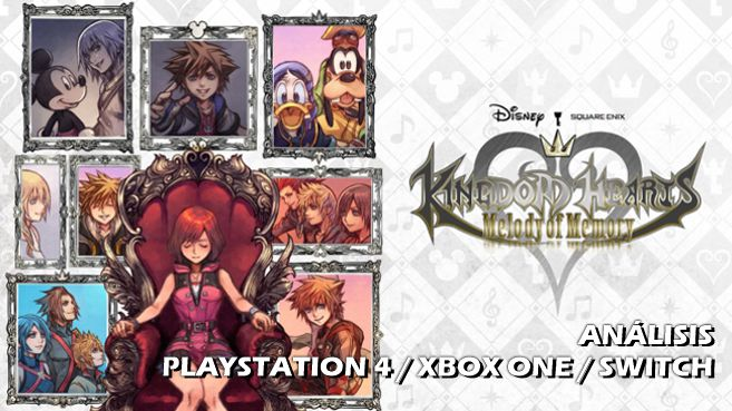 Cartel Kingdom Hearts Melody of Memory