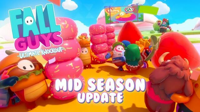 Fall Guys Mid Season Update