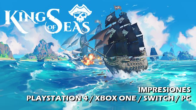 Cartel Impresiones King of Seas