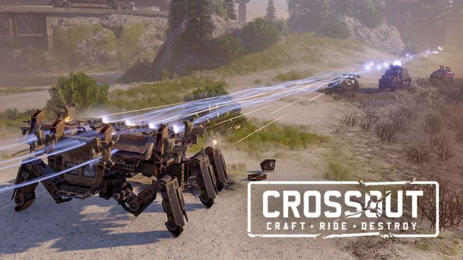 Crossout Clean Island