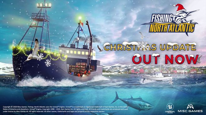 Fishing North Atlantic Christmas Update