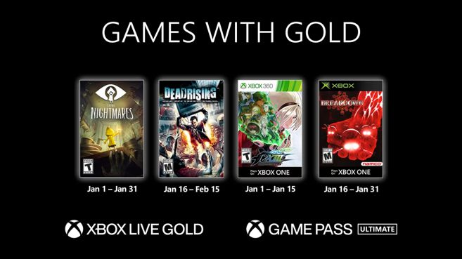 Games with Gold Enero 2021