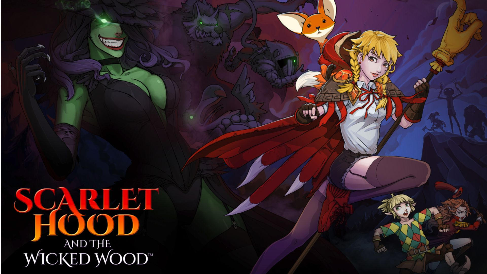 Scarlet Hood and the Wicked Wood Principal